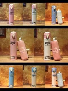 Hello Kitty 多啦A夢、不銹鋼保溫瓶