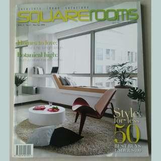 Magazine: Square Rooms Vol 9 No.2 Mar-Apr 2009