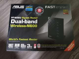 BNIB Asus Router RT-N56U
