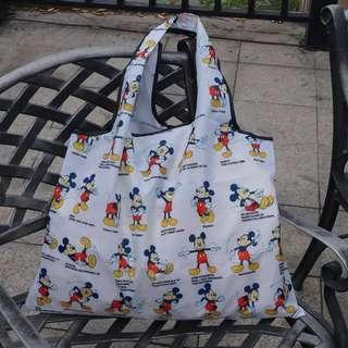 日單 迪士尼 Disney Mickey Mouse 米奇老鼠 大容量 折疊環保袋 購物袋