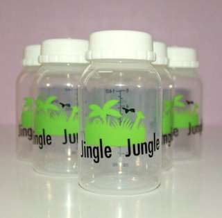 JJ breastmilk Storage Bottle 5oz (6pcs)