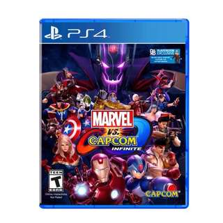 New Marvel Vs Capcom Infinite