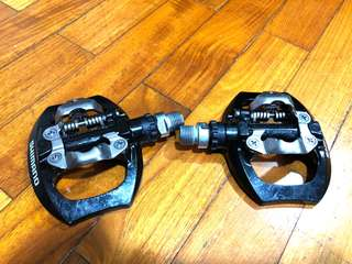 MTB Shimano Clipless pedals