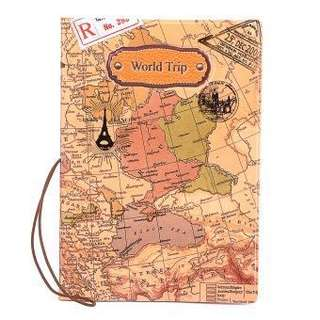 Passport Holder - World Map