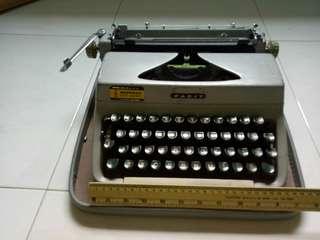 Vintage antique manual facit Typewriter