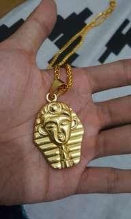 Pharaoh Gold Necklace