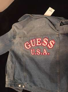 Guess x ASAP Rocky Denim Jacket ( HypeBeast )