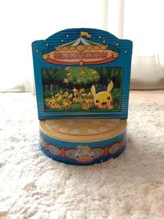 神奇寶貝 寶可夢 發條音樂盒
