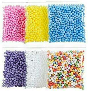 FLOAM BEADS/ FOAM BEADS