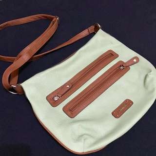 Rosetti Light Green Leather Bag (from the US)