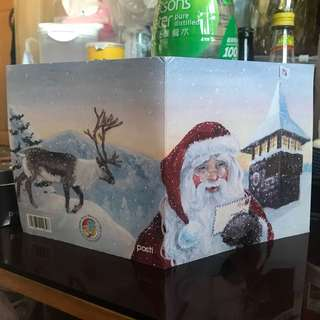 聖誕老人村 郵票