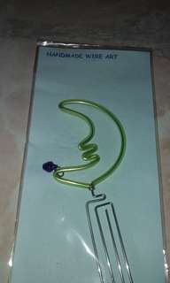 BNIP Wire Art Bookmark / Book Mark