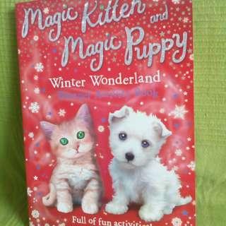 Kitten & Puppy Activity Book