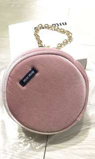 Miu Miu cosmetic stuff bag