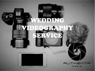 Videography services for wedding and events contact us now