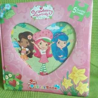 Strawberry Shortcake Jigsaw Puzzle Book