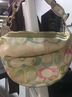 Authentic Coach Mini Shoulderbag