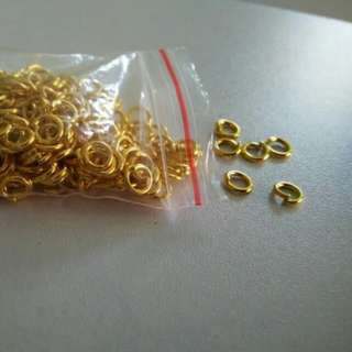 Gold Jump Ring 5mm- by pack
