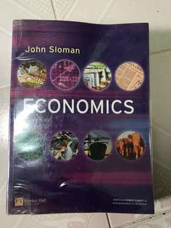 John Sloman Economics Textbook (6th edition)