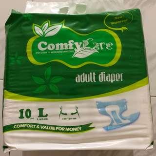 Comfycare Adult Diapers (L) carton