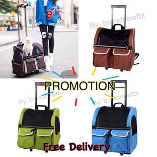 FREE delivery Pet trolley pet carrier pet backpack