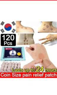 Pain relief plaster patch 120pieces free delivery