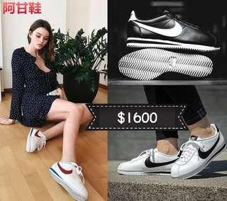 韓國代購 NIKE CLASSIC CORTEZ LEATHER 阿甘鞋 多色可選 皮革 休閒運動鞋