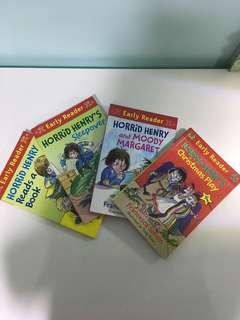 Horrid Henry Early Reader book series