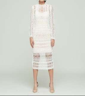 Bisou Bisou Store white wedding dress