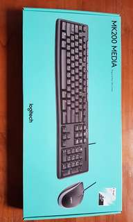 Logitech key board with mouse