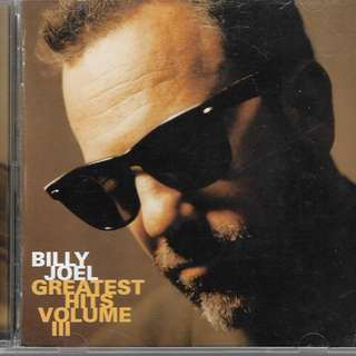 MY PRELOVED CD - BILLY JOEL GREATEST HIT VOL.3 / FREE DELIVERY (F9C)