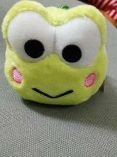 Sanrio 青蛙毛公仔吊飾