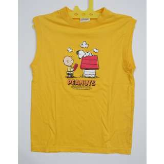 Kaos Peanuts Charlie Brown & Snoopy
