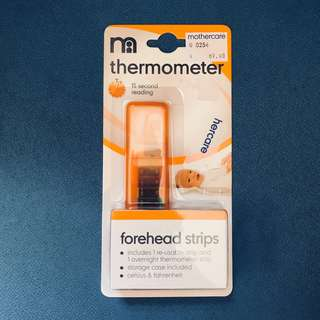 Mothercare forehead thermometer strips  額頭體溫計 (NEW)