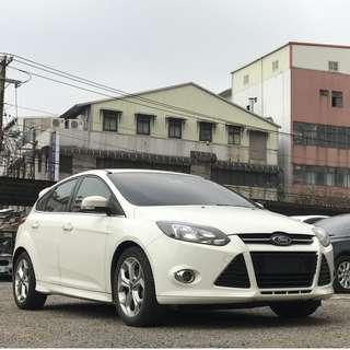 福特 2014 Focus TDCI 2.0 超級省油 又省稅 認證車 可全貸 免頭款