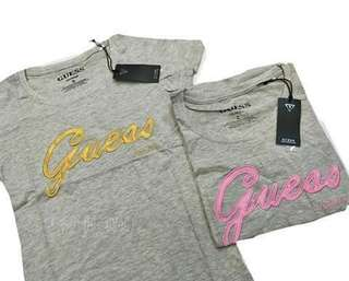 GUESS BRANDED OVERRUNS TEES FOR HER