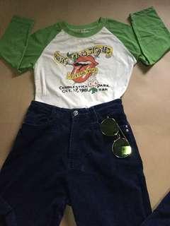 """3/4 sleeves """"Rolling stones"""""""