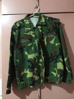 Oversized Camou Jacket