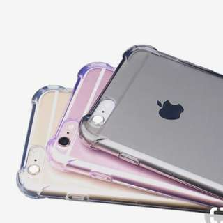 antishock clear case for IPHONE, OPPO & SAMSUNG