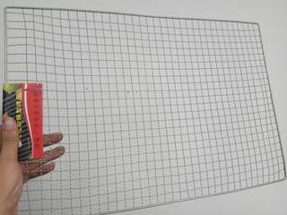 Barbeque wire mesh gauze