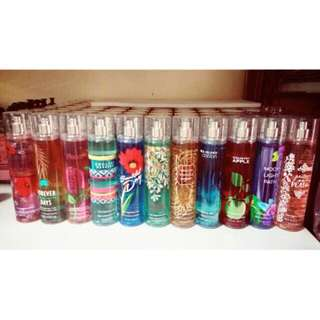 Bath & body works mist