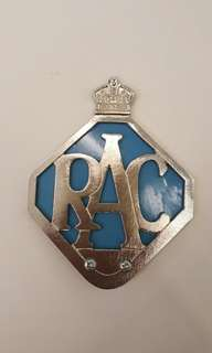 RAC badge Royal Automobile Club copy