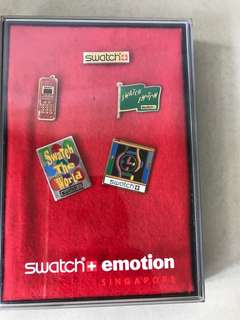 Swatch Emotion Pin Set