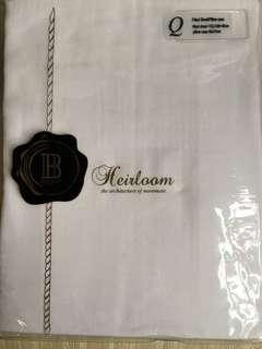 Balmain Paris fitted sheet , Q size , 100% Egyptian cotton