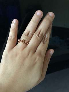 Preloved Rose Gold Plated Ring