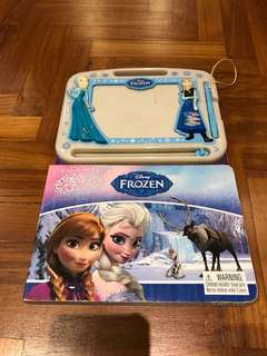 Frozen Book with Drawing Pad