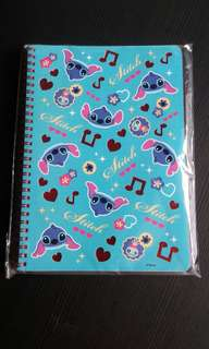 DISNEY STITCH NOTEBOOK 80sheets 26x18 cm