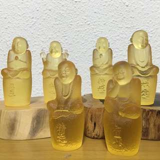 6 monk liuli gold