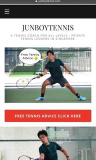 Affordable High Level Professional Tennis Coaching