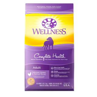 Wellness® Complete Health Grain-Free Deboned Chicken & Chicken Meal Dry Dog Food